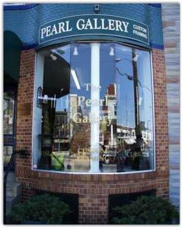 The Pearl Gallery, located on the Avenue in Hampden, Baltimore Maryland