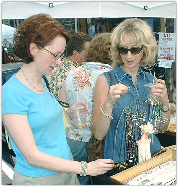 Lots and lots of Jewelry for these 2 Artgurls to see...
